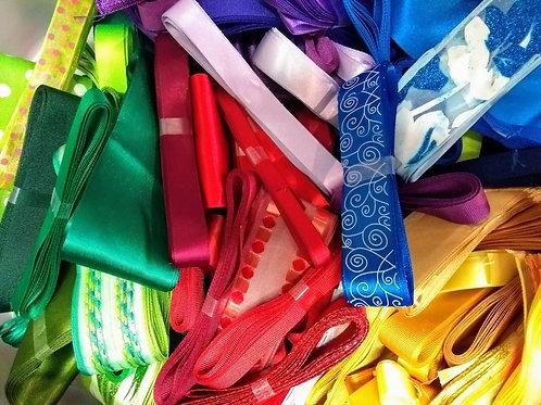 Pot Luck Bundle of 15 X 3m ribbons