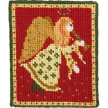 Animal Fayre Designs Christmas Angel Tapestry Kit