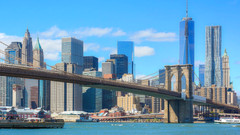 """New York City will have """"vehicle checkpoints"""" at key bridges to strictly enforce the 14-day COVID19"""