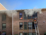 2nd Alarm Apartment fire in Gaithersburg