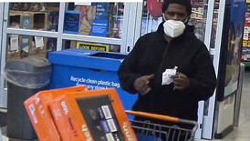 three Suspects spend over $3000 at Hagerstown Walmarts using stolen credit cards