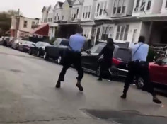 Man carrying a knife shot and killed by police in Philadelphia ⚠️ GRAPHIC ⚠️