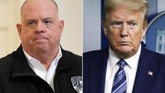 "Governor Larry Hogan responds to  Donald Trump ""Stop golfing and concede"""