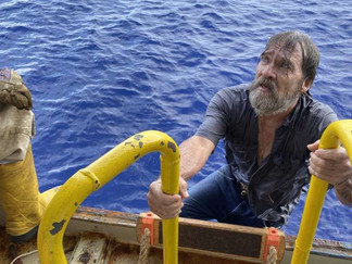 After two days, a Florida man found 86 miles offshore
