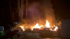 Multiple vehicles on fire in Prince George's County