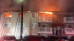 3 Alarm fire at Oxon Hill, Prince George's County