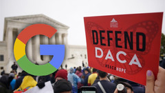 Google backs Joe Biden's efforts to pass new immigration law for  Dreamer (DACA)