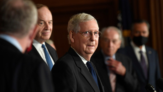 McConnell: Trump 'provoked' crowd that stormed Capitol