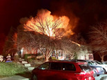 Fire damages multiple Town Houses in Montgomery county