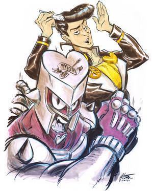 Josuke & Crazy Diamond