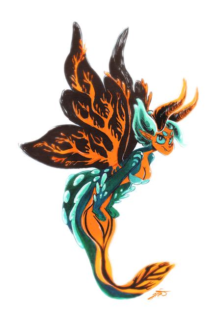 Nudibranch Mermaid