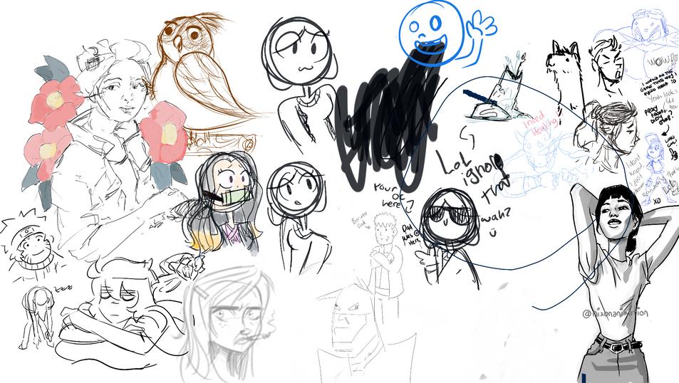 Casual Drawing Jam P.M.
