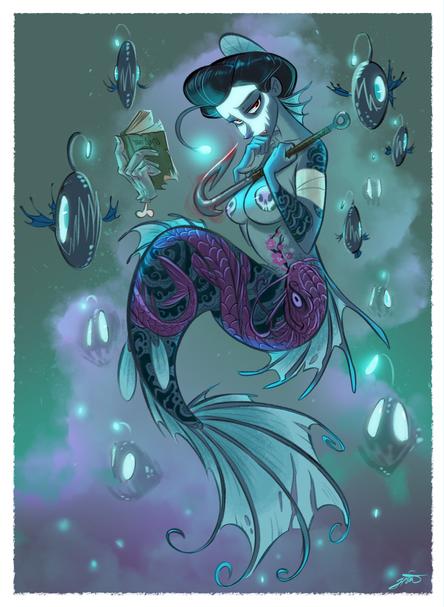 Anglerfish Mermaid