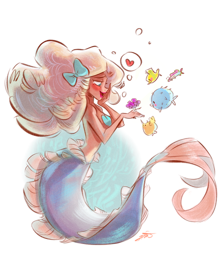 Eel Mermaid