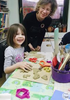 Radionica - Mame i ćerke u ateljeu