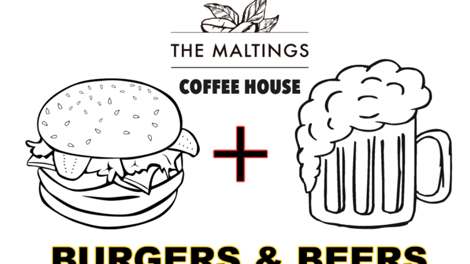 THURSDAY MAY 27TH 2021 - BURGERS AND BEER NIGHT