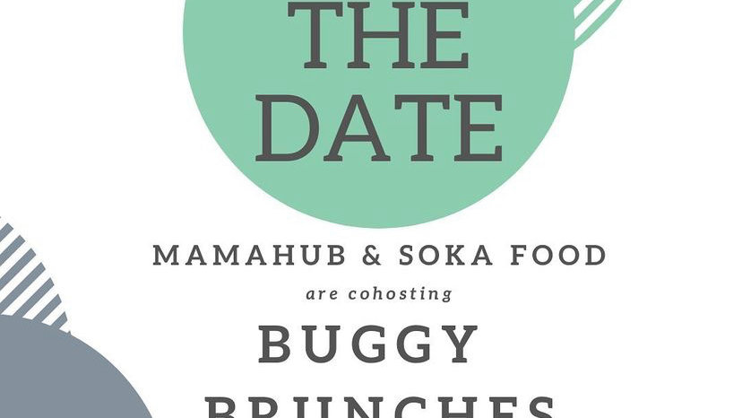 WEDNESDAY 2ND JUNE 2021 - MAMAHUB BUGGY BRUNCH