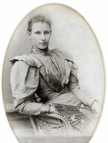 Hannah Marsden wife of Frederick Passey