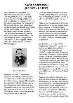 David Robertson Story Pg 1