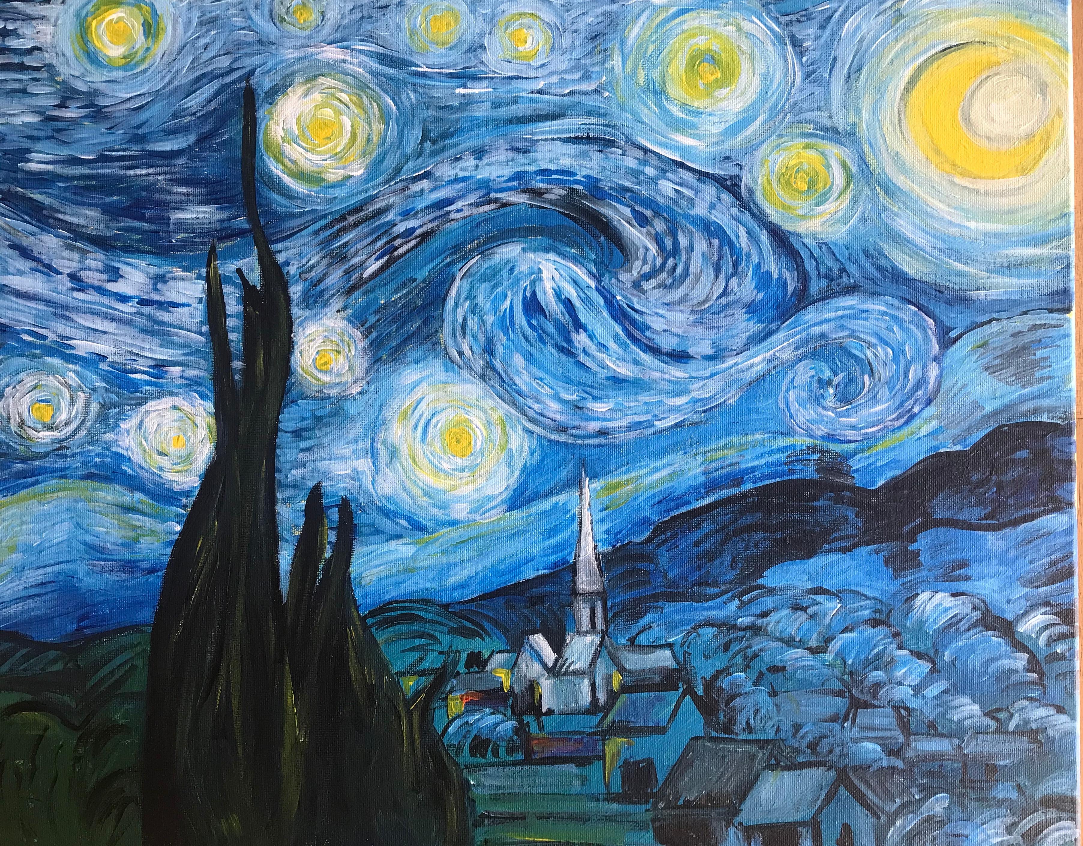 Van Gogh's Starry Night 18/10/2019