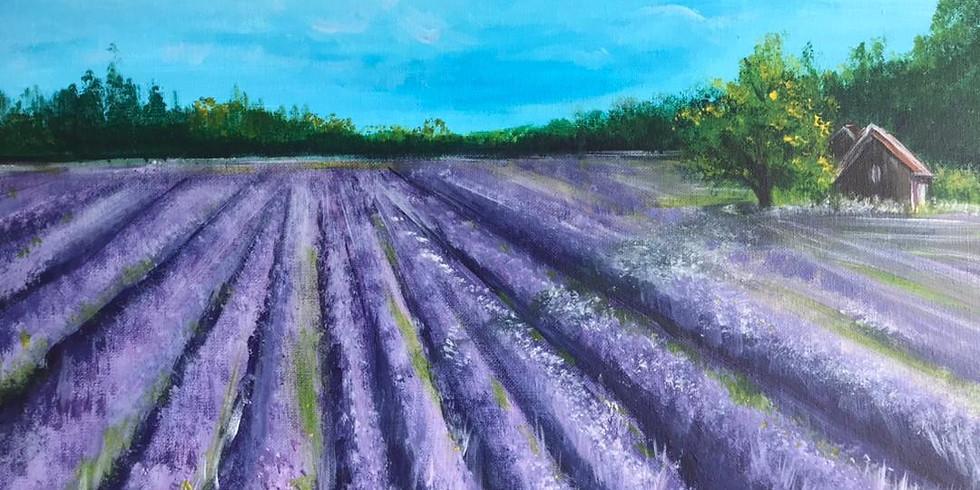 Friday Night -Lavender Field!