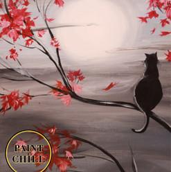 Maple Tree & Cat