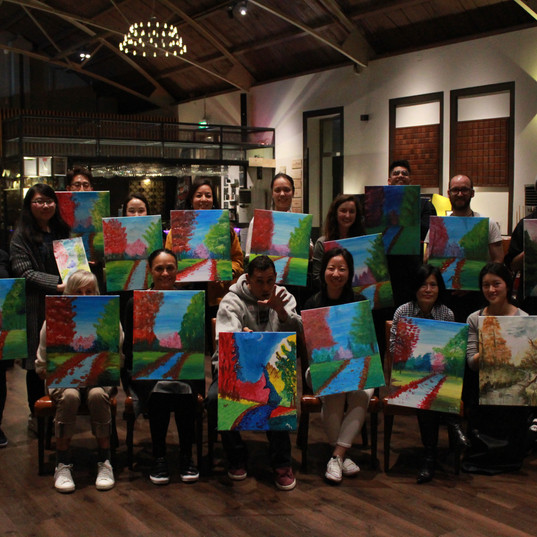 Paint & Chill Event at Vie