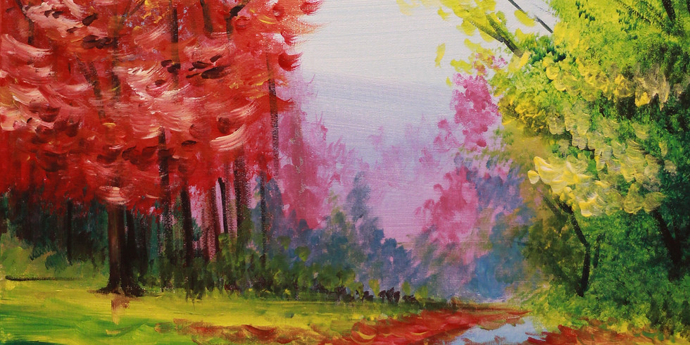 Friday Night - Colourful Trees! (Sold Out!)
