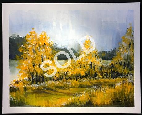 Golden Trees (SOLD)
