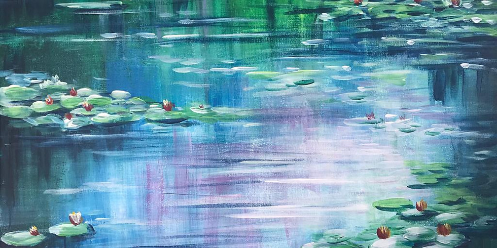 Water Lily - Monet Inspired