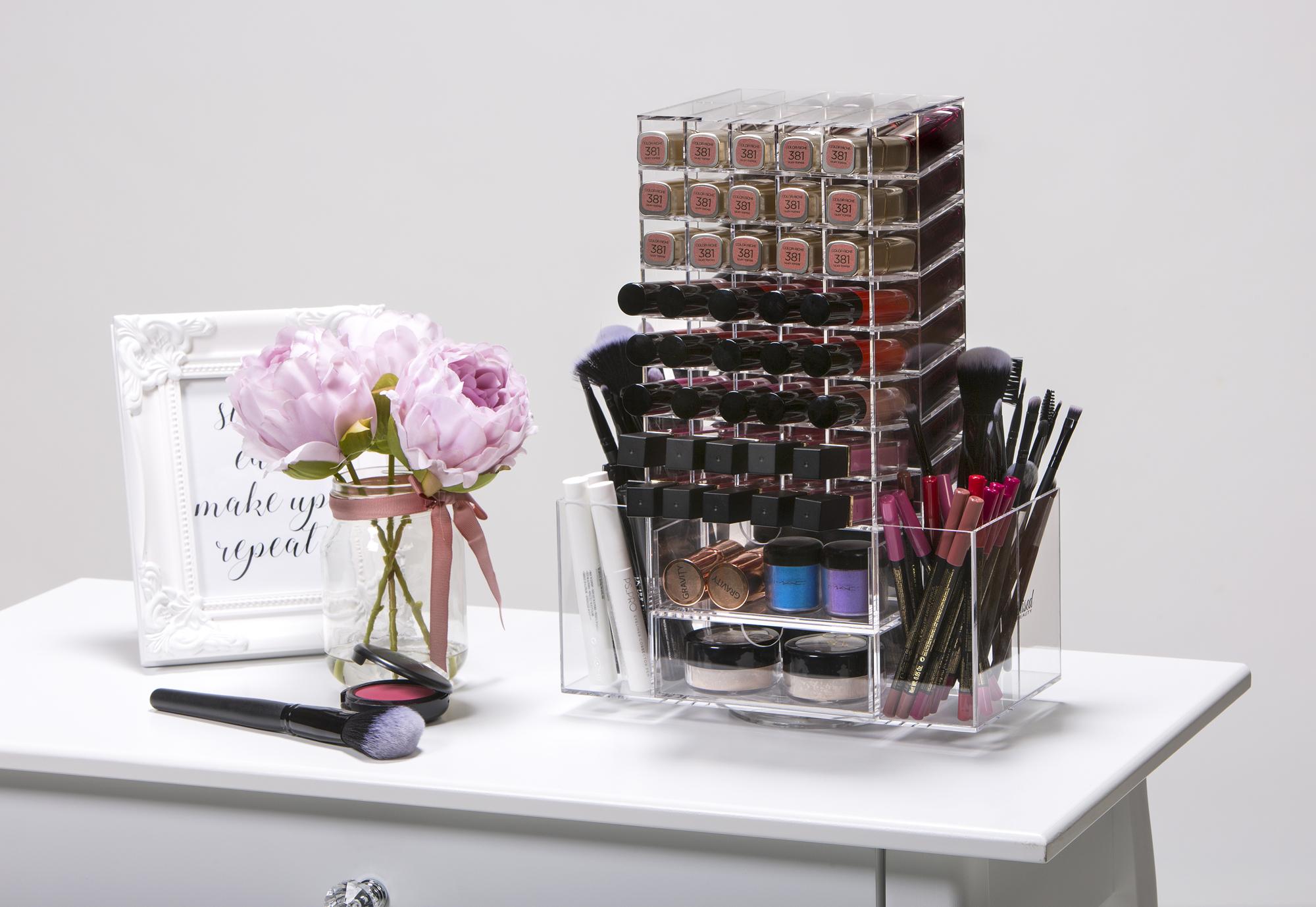 Spinning Makeup Tower 1