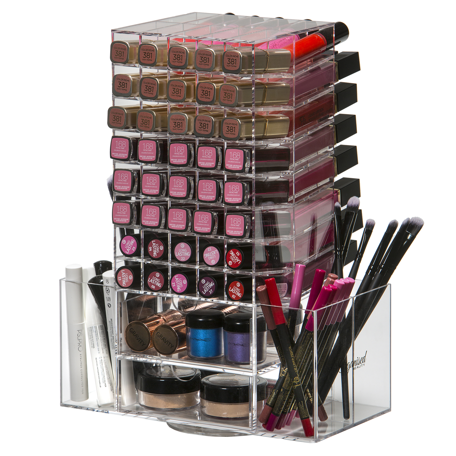 Spinning Makeup Tower 5
