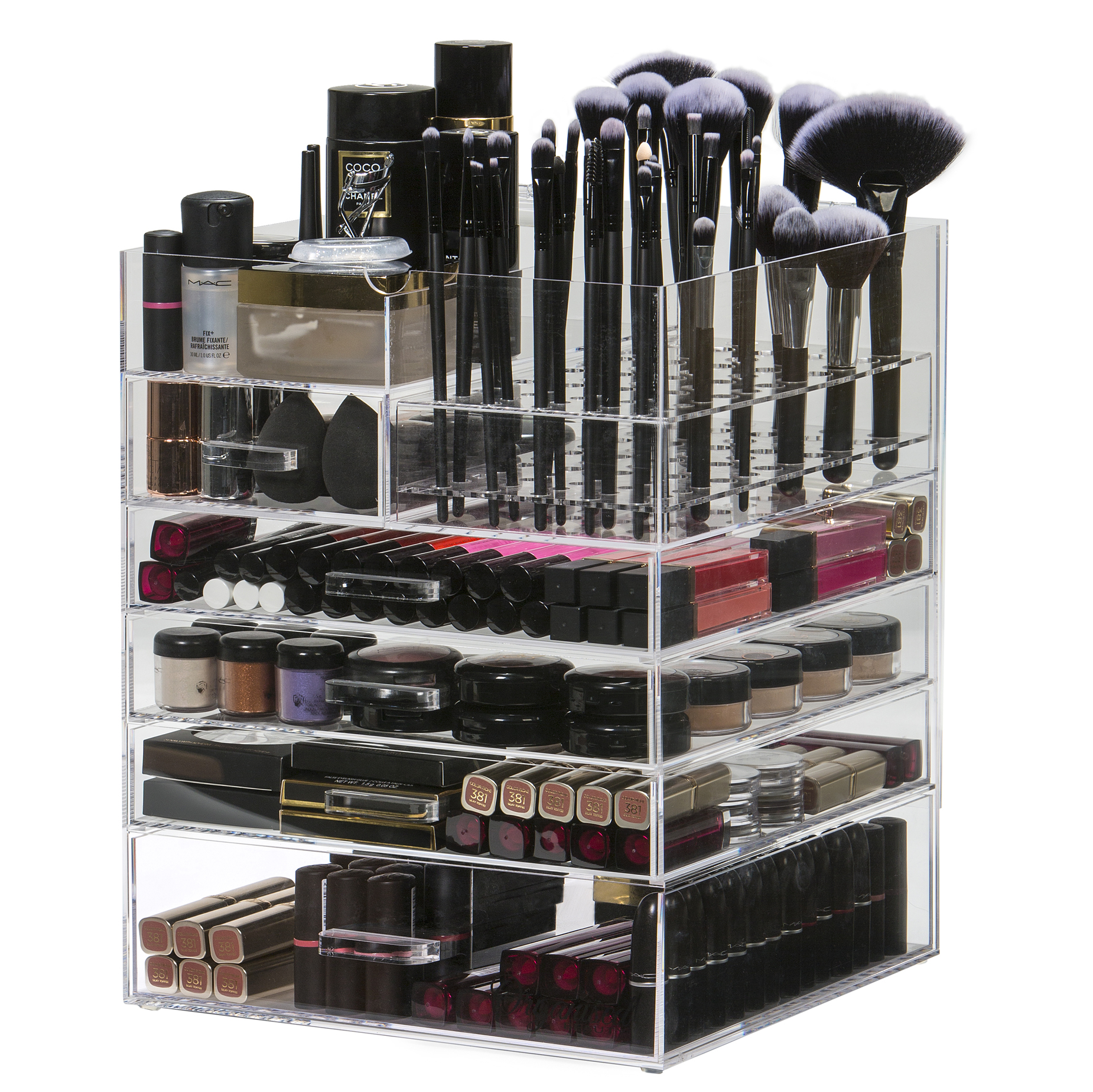 6 Tier Makeup Organiser 7