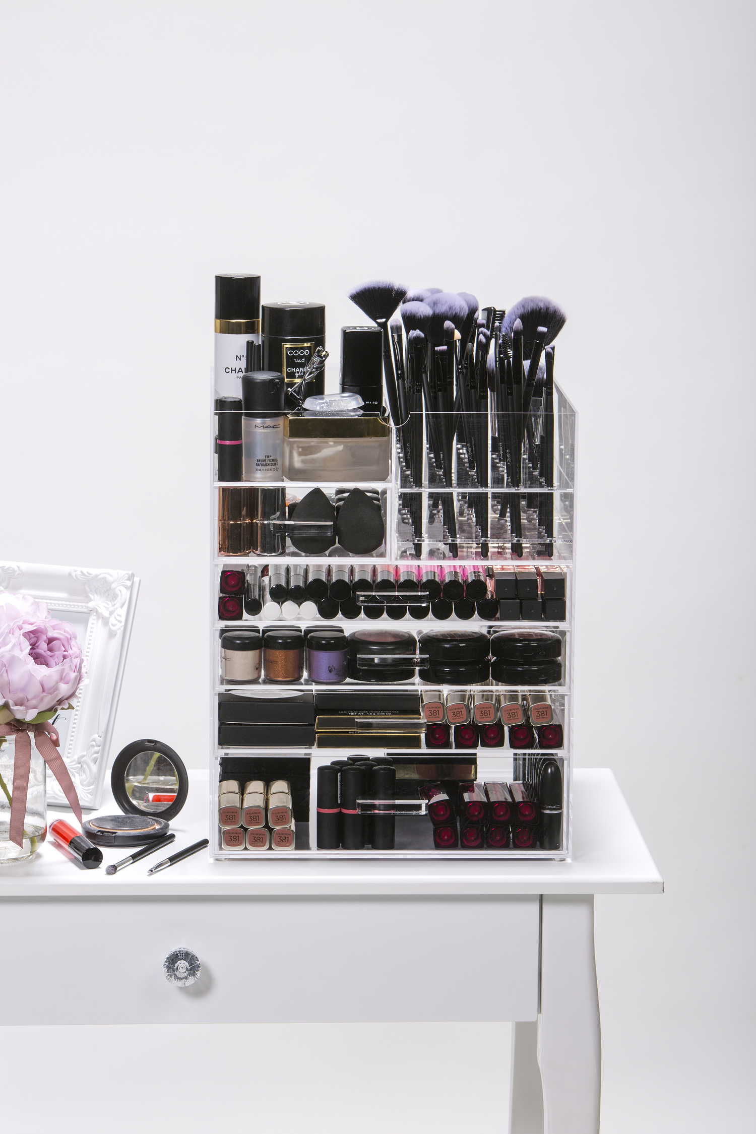 6 Tier Makeup Organiser 2