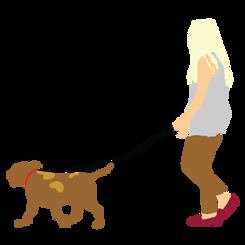 Woman Walking Dog Side-01.png