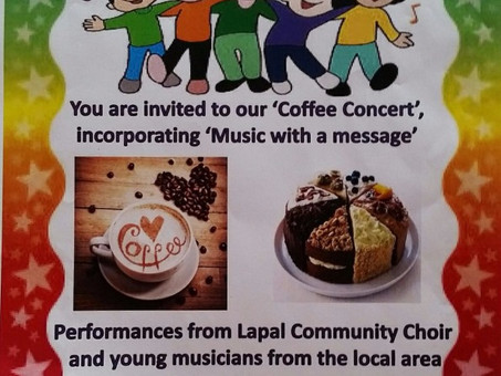 1 day until our FREE Coffee Concert