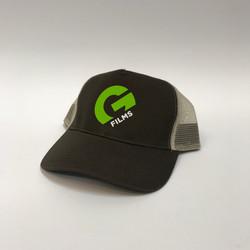 White & Green Vinyl Cap