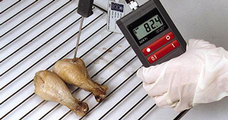 Manual method of temperature measurement