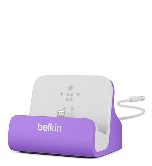 Belkin Mixit_ Chargesync Dock For Iphone – Purple