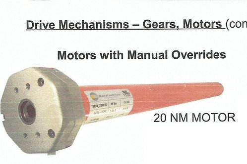 Large Motors (100nm) with Override