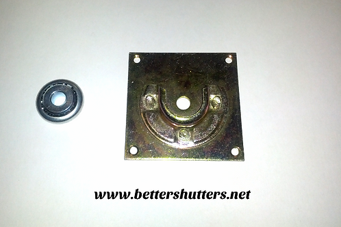 tube mounting plate and 40 millimeter bearing