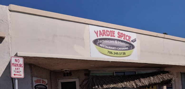 YArdie Spice in Homestead, FL sign