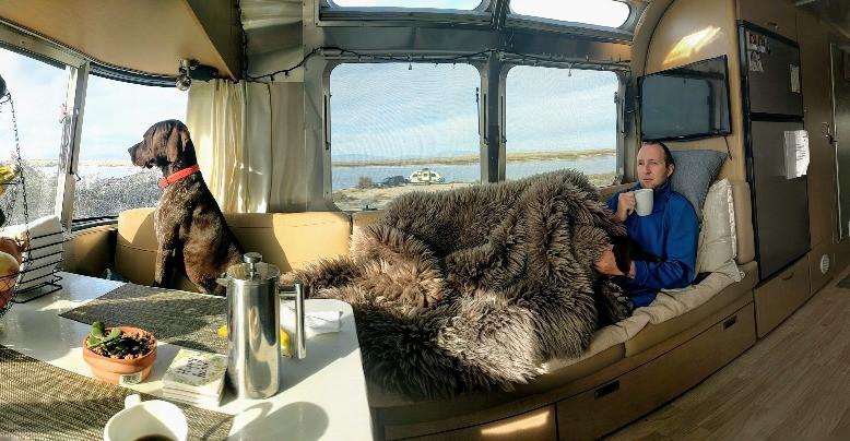 Airstream Interior With Windows