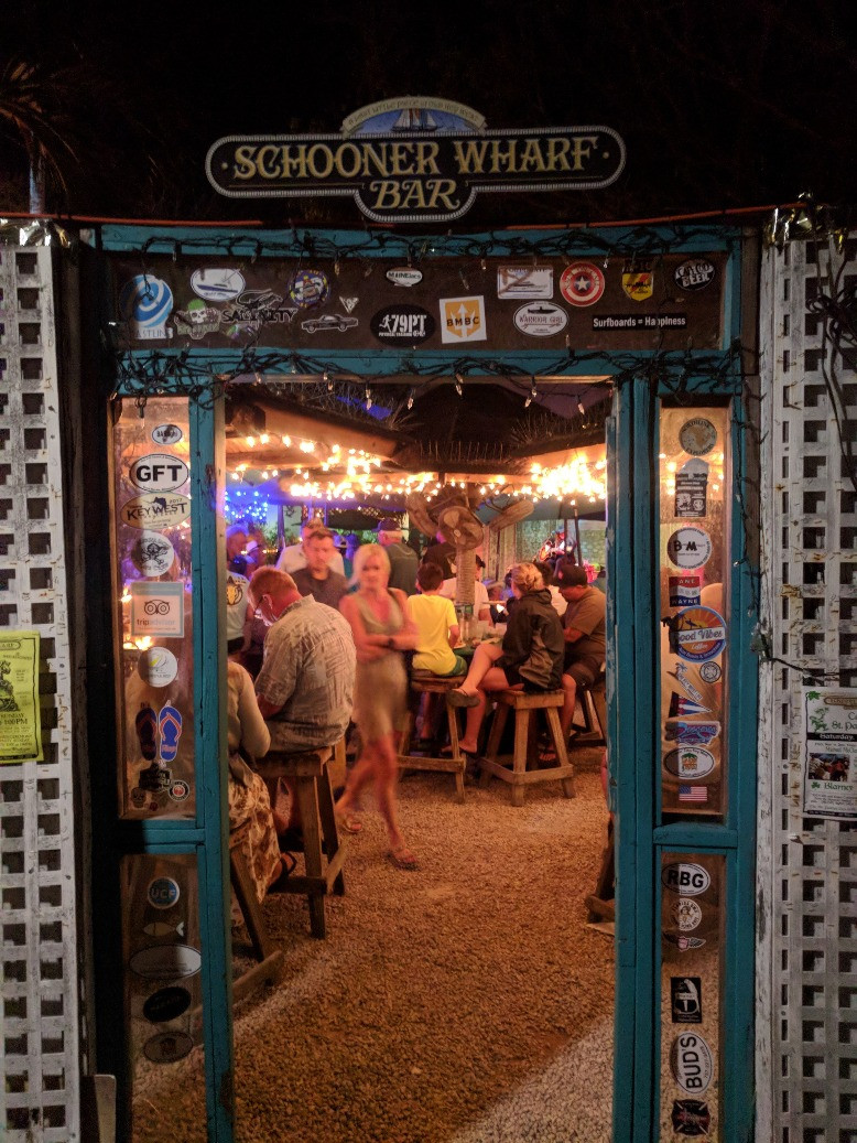 Schooner Wharf Bar in Key West, FL