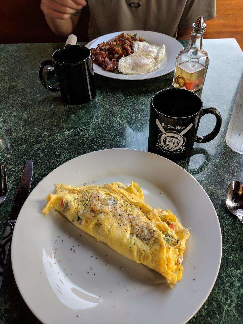 Omelette - Oar House Cedar Key, FL
