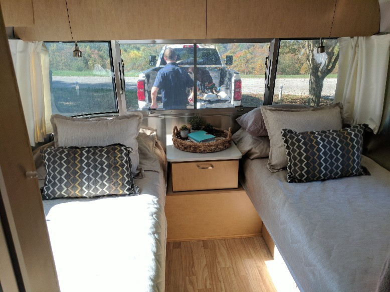 Airstream Twin Beds