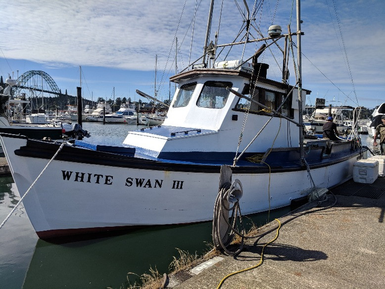 White Swan fishing boat