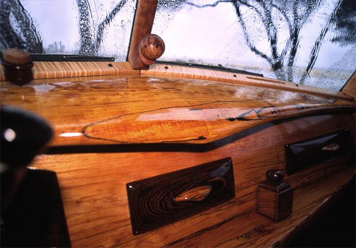 Wooden Dashboard 1952 Chevy Suburban