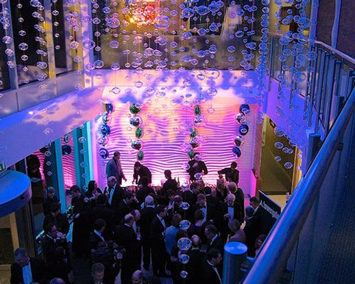 Swooshed Event Production Corporate Events, sometimes you just need to add that sparkle, let us create that experience with a creative flare, we provide everything for your event.