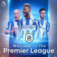 Swooshed official partner to Huddersfield Town football club